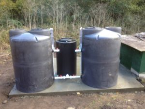 SSF-3 slow sand filter producing 3,600 gpd